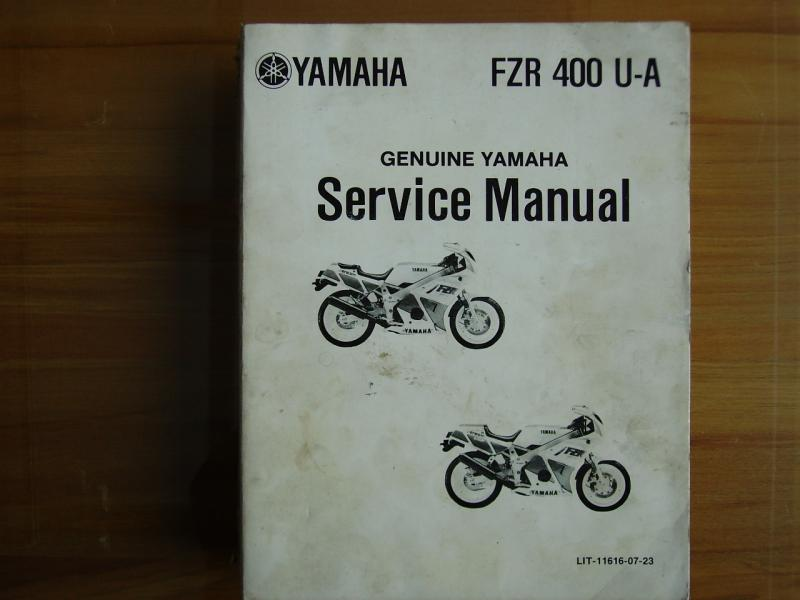 yamaha fzr400 workshop manual 1986 1987 1988 1989 1990