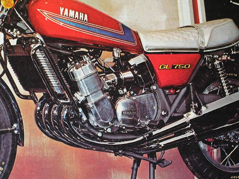 Used 750 BMW >> Yamaha GL750 1971-1972 motorcycle parts for sale